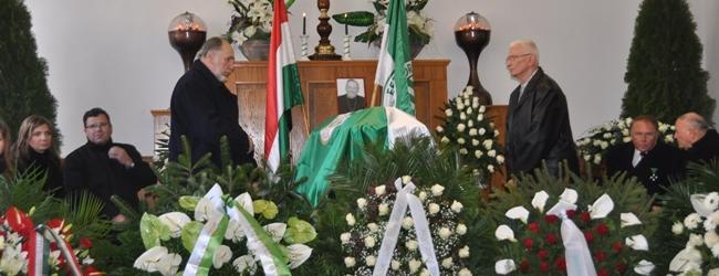 Rudas Ferenc végső búcsúztatása