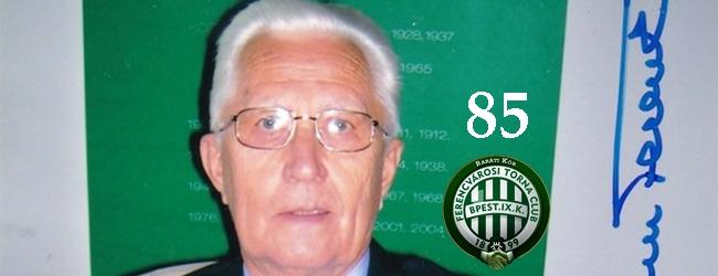 Születésnapján köszöntjük a 85 éves Dr. Som Ferencet
