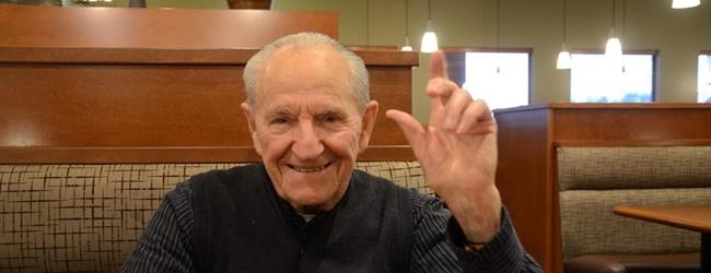 Csabai József 85 éves