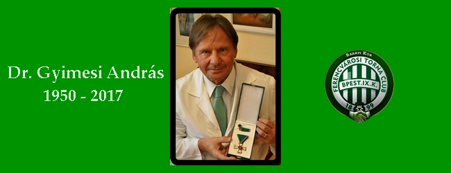 Dr. Gyimesi Andrásra emlékezünk