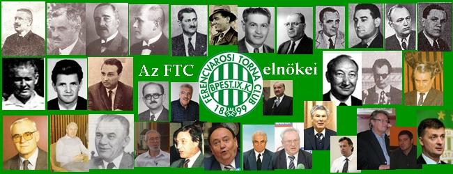 A Ferencvárosi Torna Club elnökei és ügyvezető elnökei