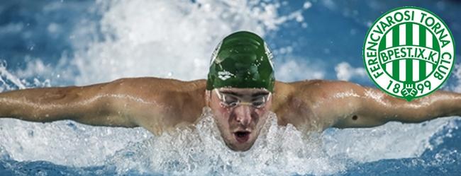A Fradi szakosztályai. Úszás