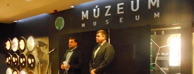 Novák Dezső emlékkiállítás nyílt a Fradi Múzeumban